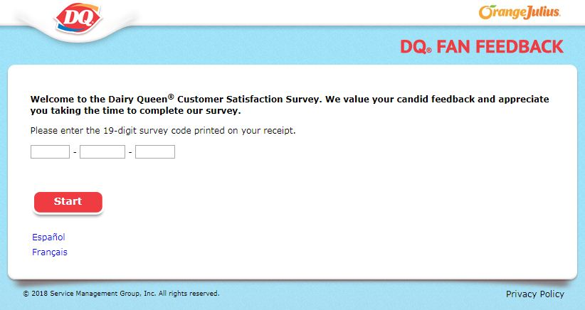 DQ Fan Survey