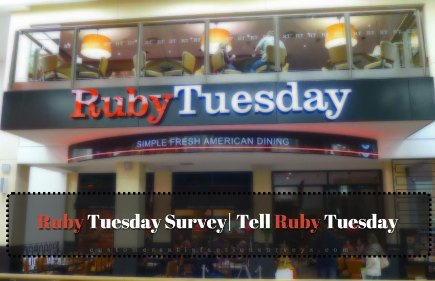Tell Ruby Tuesday