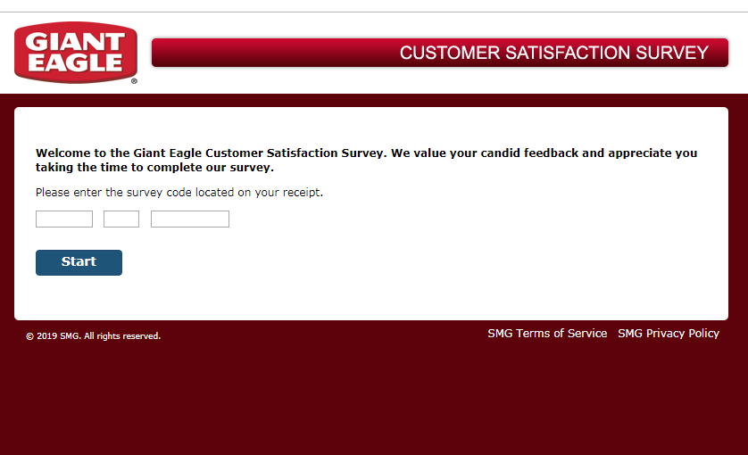 Giant Eagle Express Guest Satisfaction Survey