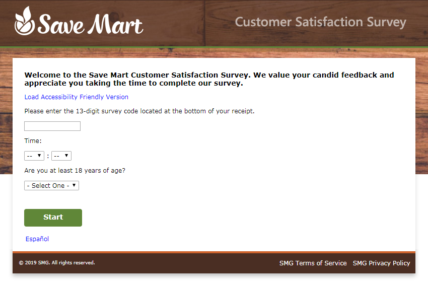 www.savemart.com/survey @ Save Mart Survey
