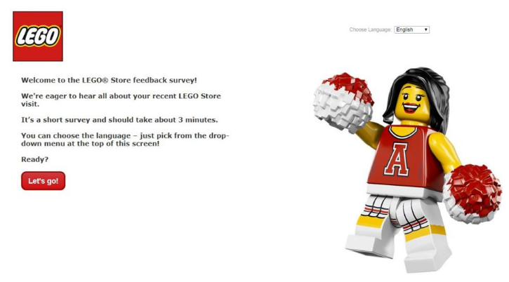 LEGO Guest Experience Survey