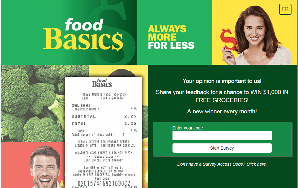 Food Basics Customer Survey